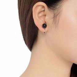 Klipsikorvakorut, BELLE MISS Enda Clip earrings in Black