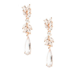 Kristallikorvakorut, ATHENA BRIDAL|Chic Chandellier Earrings (RG)
