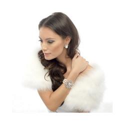 Helmikorvakorut, ATHENA BRIDAL JEWELLERY|Chic Pearl Rosegold Earrings