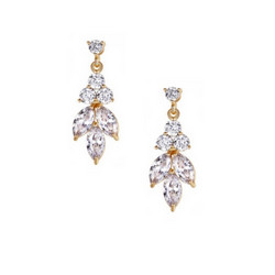 Kristallikorvakorut, ATHENA BRIDAL|Dainty Sparkle Drop Earrings