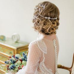Hiuskoru, ATHENA BRIDAL JEWELLERY|Dainty Crystal Vine in Rosegold