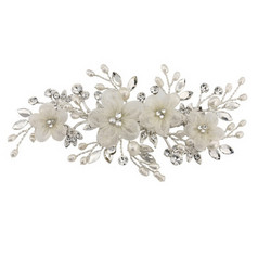 Hiuskoru, ATHENA BRIDAL JEWELLERY|Carrie Floral Romantic Headpiece