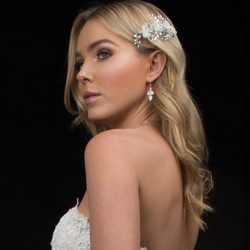 Hiuskoru, ATHENA BRIDAL|Carrie Floral Romantic Headpiece (Rosegold)