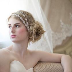 Hiuskoru, panta/ROMANCE, Glamorous Headpiece in Silver