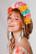 LEMPI-korvakorut, Laura (vaaleanturkoosi, kolmiosainen)