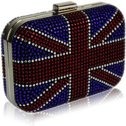 Pikkulaukku/iltalaukku, Union Jack Box Clutch-brittilippulaukku