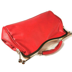 Käsilaukku, 50's Red Handbag