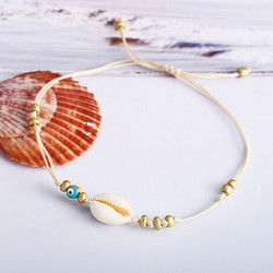 Nilkkakoru/rannekoru|HOLIDAY COLLECTION, Summer Seashell Anklet