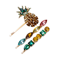 Hiuskoru, pinni|SUGAR SUGAR, Pineapple Clip Set