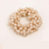 Donitsi/Scrunchie|SUGAR SUGAR, Pearls in Golden Brown -scrunchie