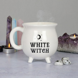 Muki, White Witch Cauldron Mug