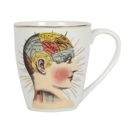 Muki, Phrenology Ceramic Mug
