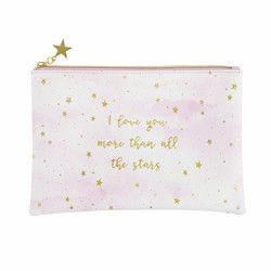 Meikkipussi, Sass & Belle|Scattered Stars Love You More Pouch