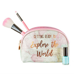 Meikkipussi, Sass & Belle|World Explorer Cosmetic Bag