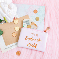 Meikkipussi, Sass & Belle|World Explorer Coin Purse