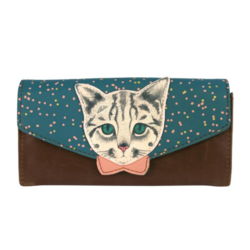 Lompakko, House of Disaster|Meow Wallet -kissalompakko