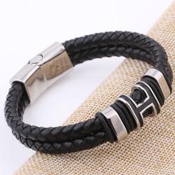 Keinonahkainen rannekoru, Modern Faux Leather Bracelet