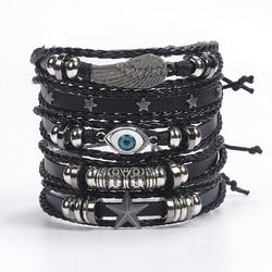 Rannekorusetti, Set of Black Rock Bracelets