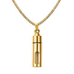 Avattava kirurginteräskaulakoru, Gold Sweater Necklace