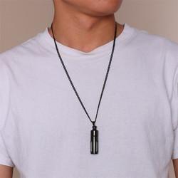 Avattava kirurginteräskaulakoru, Silver Sweater Necklace