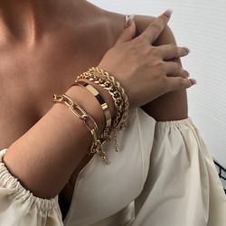 Rannekorusetti, FRENCH RIVIERA|Chunky Silver Bracelets