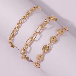 Rannekorusetti, FRENCH RIVIERA|Stylish Gold Bracelets