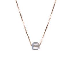 Kirurginteräskaulakoru, Minimalistic Gold Necklace