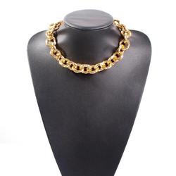 Kaulakoru, FRENCH RIVIERA|Chunky Belleville Necklace in Gold