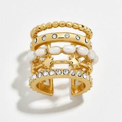 Korvakoru/kiipijä, Non-Piercing Gold Earring with Pearls
