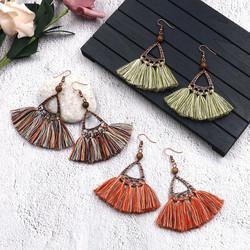 Korvakorut, Bohemian Earrings with Tassels