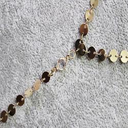 Kerroskaulakoru, FRENCH RIVIERA|Long Gold Chain Necklace