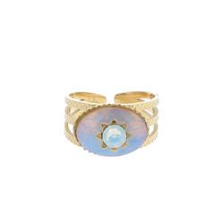 Sormus, BOHM PARIS|Bague Inaya avec white opal