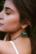 Korvakorut, BOHM PARIS|Boucles Anaelle avec pierre blanche agate