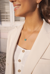 Kaulakoru, BOHM PARIS|Collier Bea avec cristal ivory