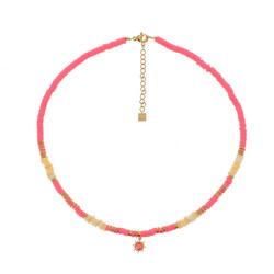 Kaulakoru, BOHM PARIS|Collier Surf avec cristal pink