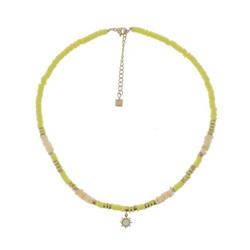 Kaulakoru, BOHM PARIS|Collier Surf avec cristal jaune