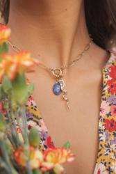 Maskotti/riipus, BOHM PARIS|Lockie Charm Viggo Lapis Lazuli