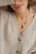 Maskotti/riipus, BOHM PARIS|Lockie Charm Castille petit, nacre gris
