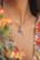 Maskotti/riipus, BOHM PARIS|Lockie Charm Cassy nuances roses