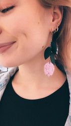 LEMPI-korvakorut, Lehdellinen tulppaani