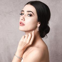 Kristallikorvakorut, ATHENA BRIDAL|Romantic Adelie Earrings