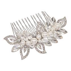 Hiuskoru, ATHENA BRIDAL JEWELLERY|Pearl Shimmer Hair Comb