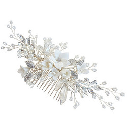 Hiuskoru, ATHENA BRIDAL|Blooming Jasmin Headpiece -Luxe Hair Comb