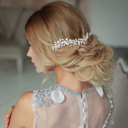 Hiuskoru, ATHENA BRIDAL|Luxurious Pearl Headpiece