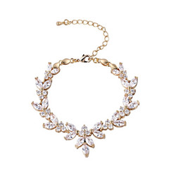 Rannekoru, ATHENA BRIDAL|Elegant Cubic Zirconia Bracelet in Gold