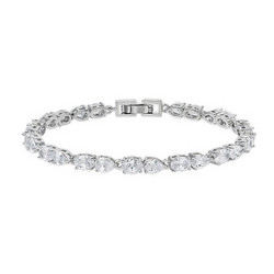Rannekoru, ATHENA BRIDAL|Classic Cubic Zirconia Bracelet