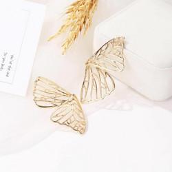 Korvakorut, FRENCH RIVIERA|Large Gold Butterfly Wings