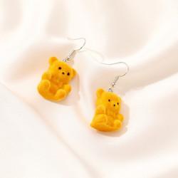 Korvakorut, Orange Teddy Bear -oranssit nallekorvakorut