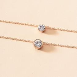 Kerroskaulakoru, FRENCH RIVIERA|Simple Double Layer Necklace