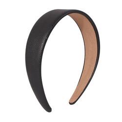 Hiuspanta|SUGAR SUGAR, Leatherette Hairband in Black - musta panta